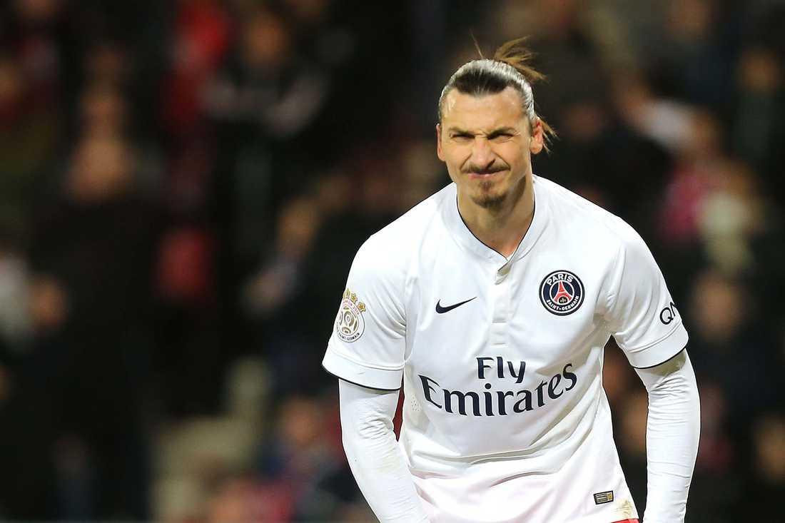 Zlatan Ibrahimovic stannar i PSG under hela 2015?