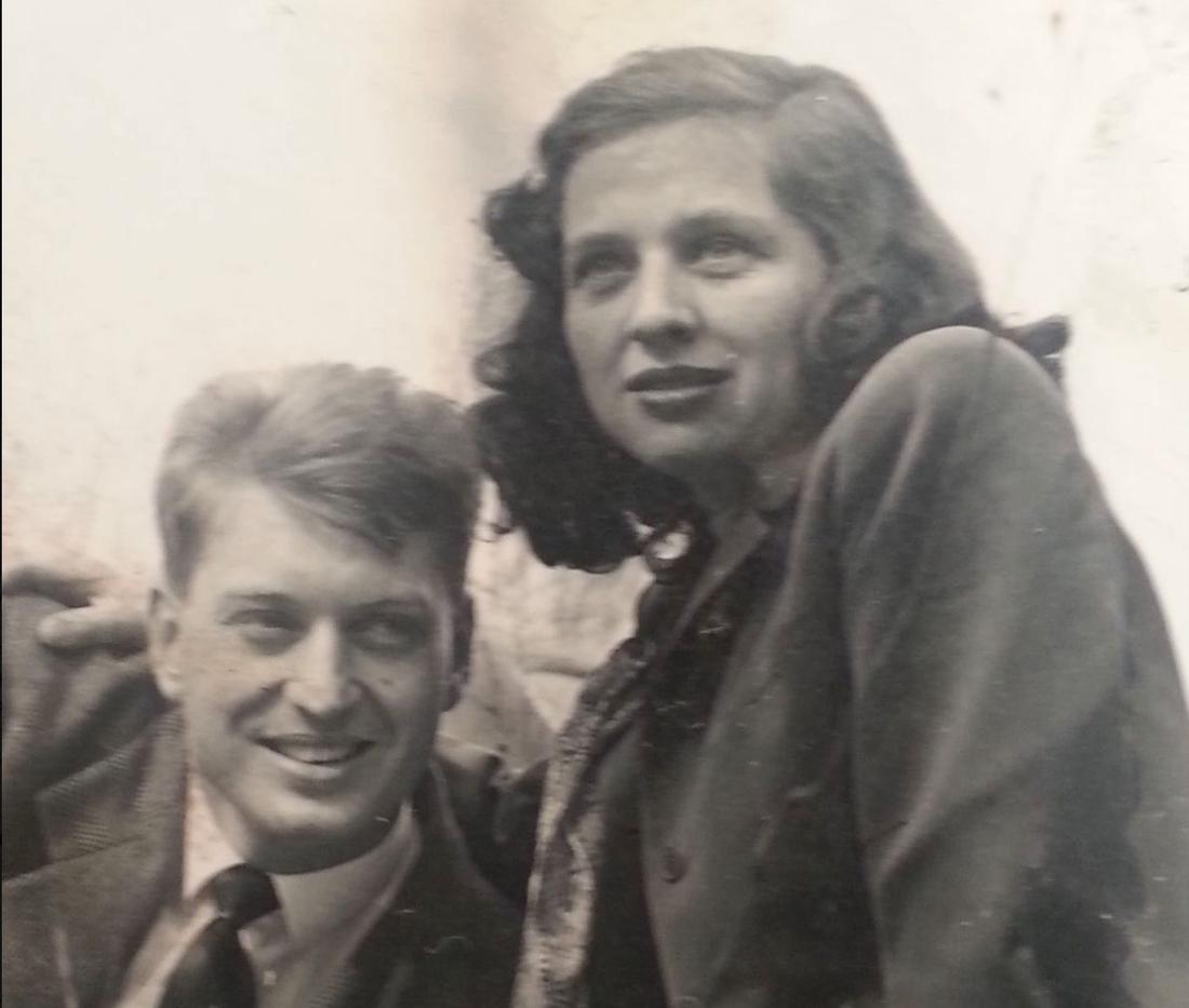 Charles och Sara Rippey 1946.