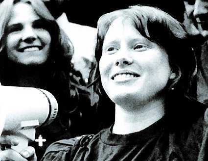 Carter 1977–1981 Amy Carter, flyttade in nio år gammal, ut som 13-åring.