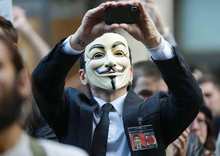 Bild från Occupy-demonstration i Seattle.