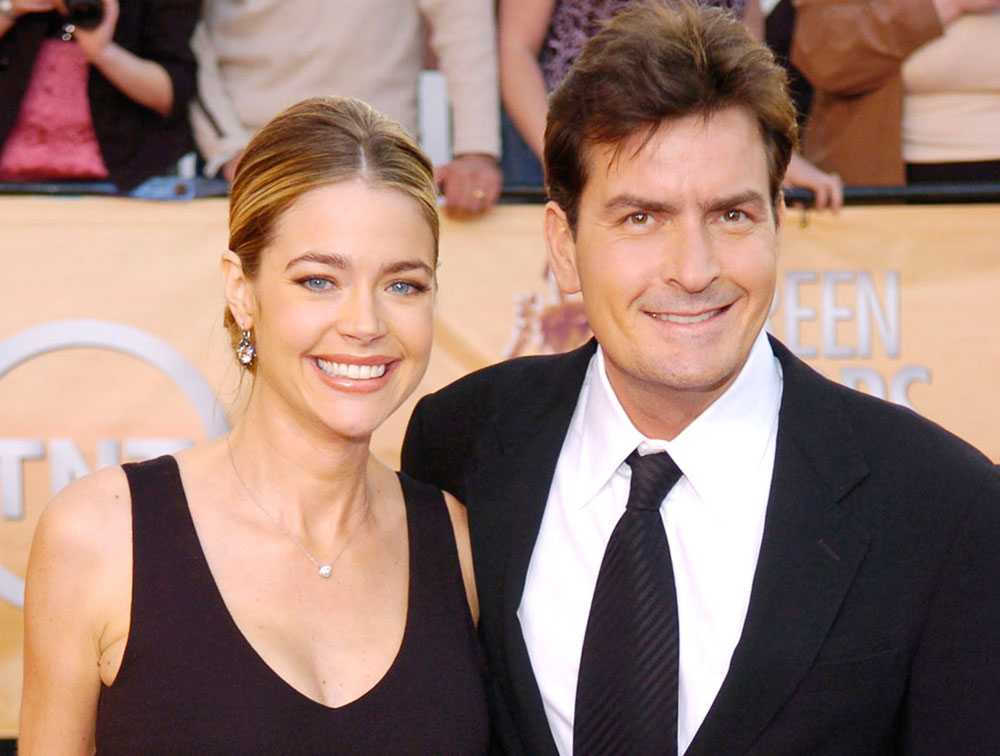 Charlie Sheen och Denise Richards var gifta 2002-2006.