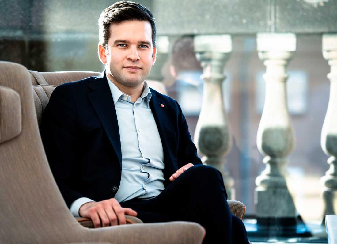 Gabriel Wikström leder S valanalysgrupp.