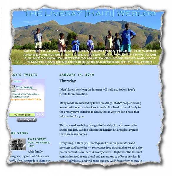 The Livesay Weblog