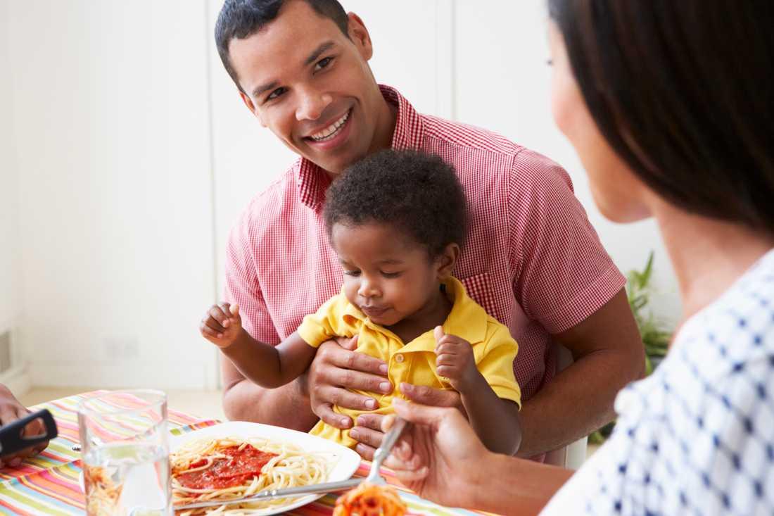 – Familjer idag har svårt att hitta en stund att äta och umgås tillsammans, säger Mats-Eric Nilsson.