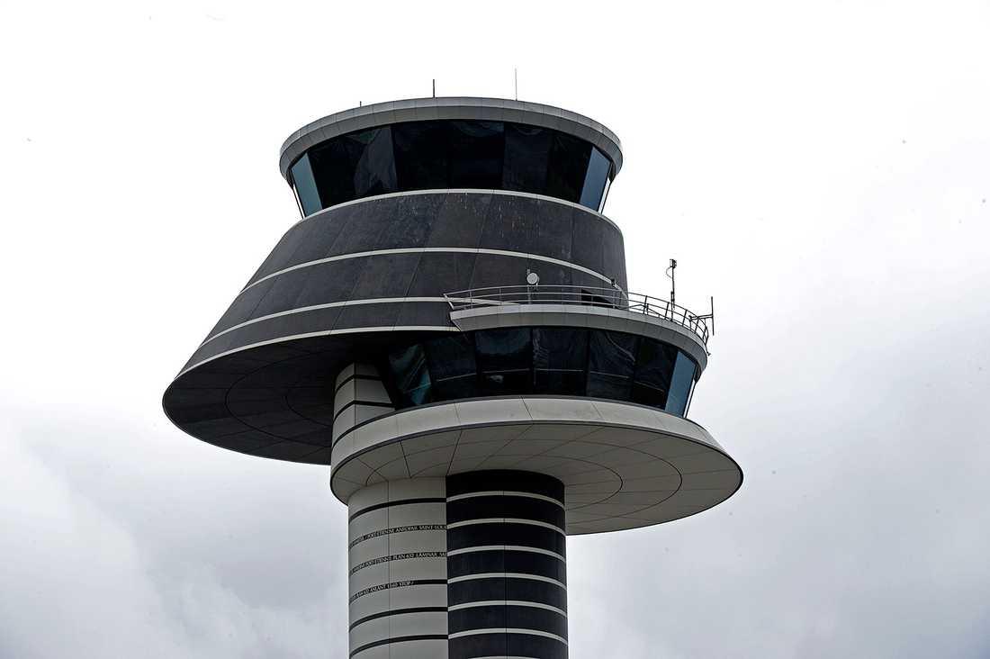 Flygledartornet på Arlanda.
