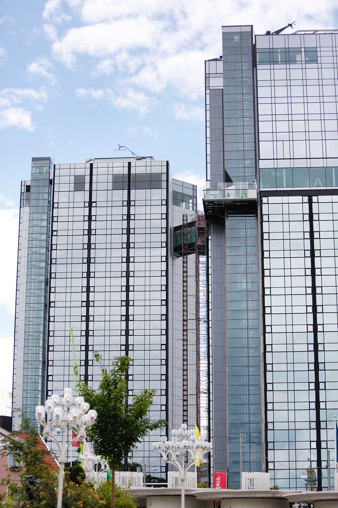 Gothia Towers i Göteborg.