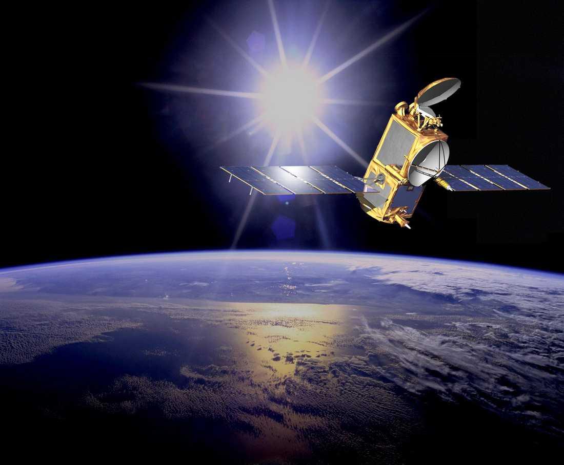 Satelliterna kretsar som ett oskyddat nervsystem runt jorden. I dag finns egentligen ingen samhällssektor som inte är beroende av satellittjänster. Därför rustar de stora rymdnationerna för krigföring i rymden.