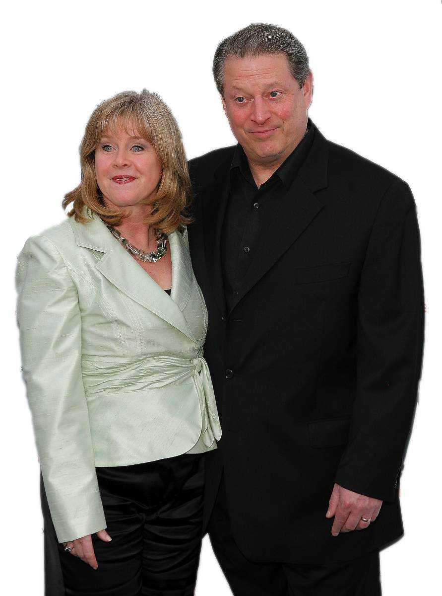 """De föll offer för domino-effekten Amerikanske vicepresidenten Al Gore lämnade sin fru Mary Elizabeth """"Tipper"""" Aitcheson 2010…"""