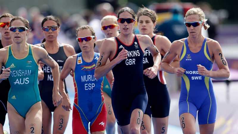 Lisa Nordén, längst till höger.
