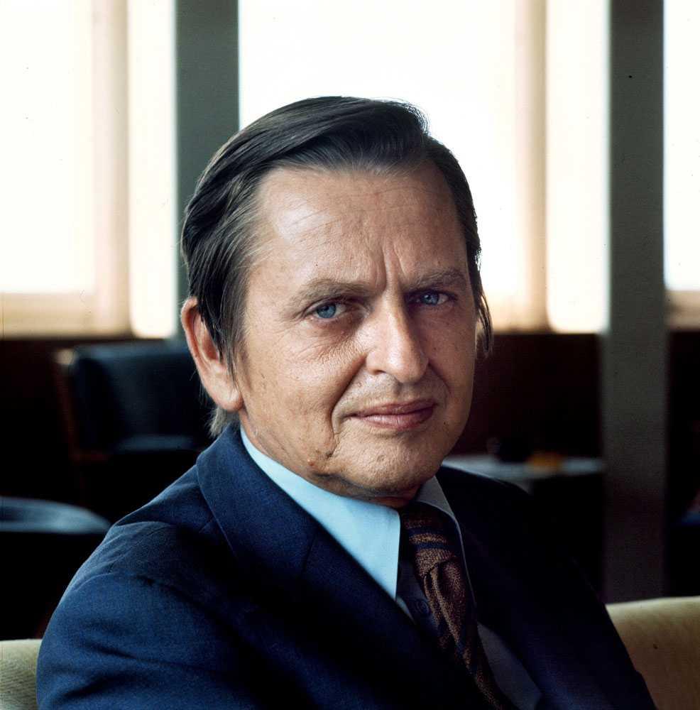 Olof Palme.