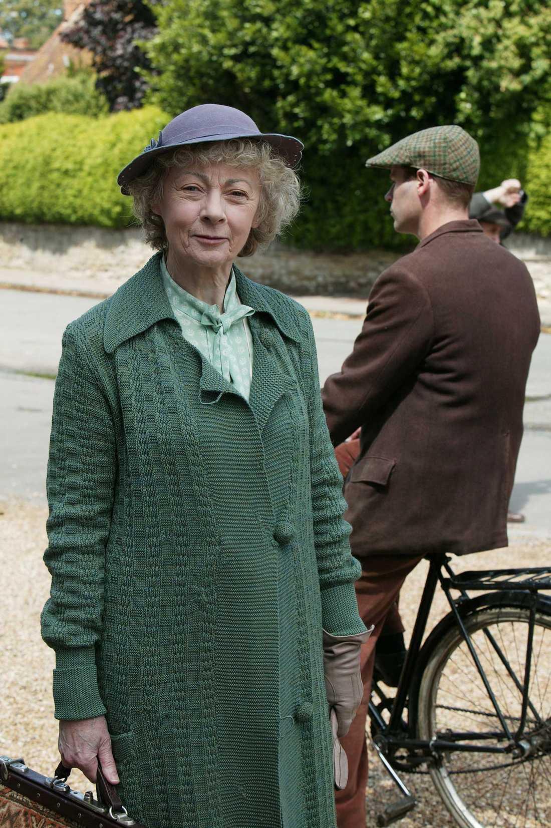 Geraldine McEwan som Miss Marple.