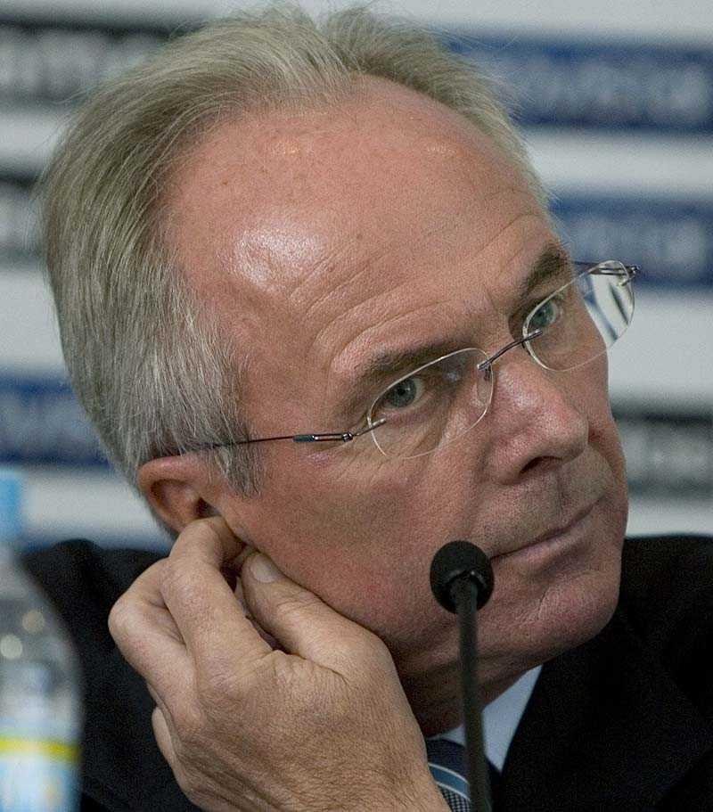 gör comeback i england Kommer Sven-Göran Eriksson tillbaka till Premier League?