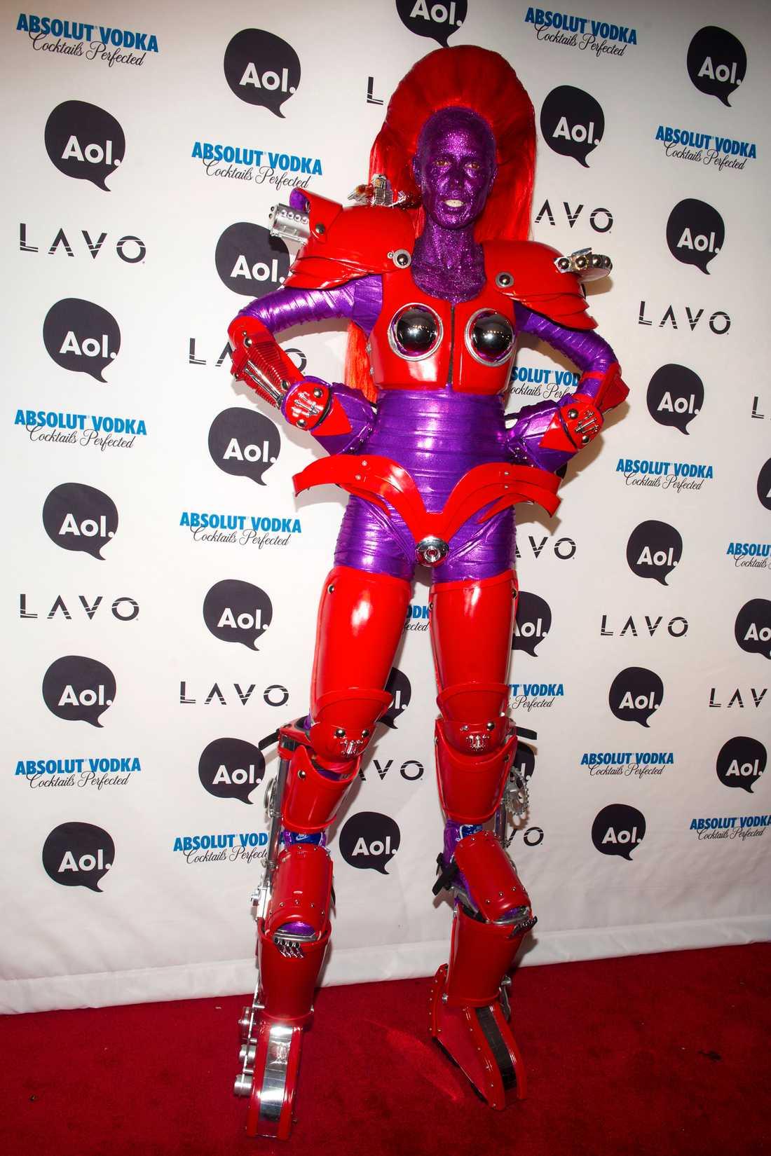 Heidi Klums bästa Halloweenkostymer - klädde ut sig till Jessica ... b463b4fb583dc