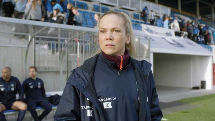 "Ane Dahl Torp i ""Hemmaplan""."