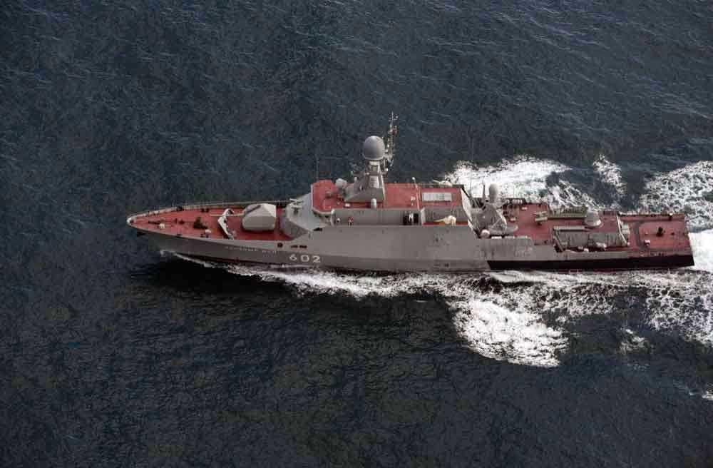 Den ryska korvetten Zelenyy Dol