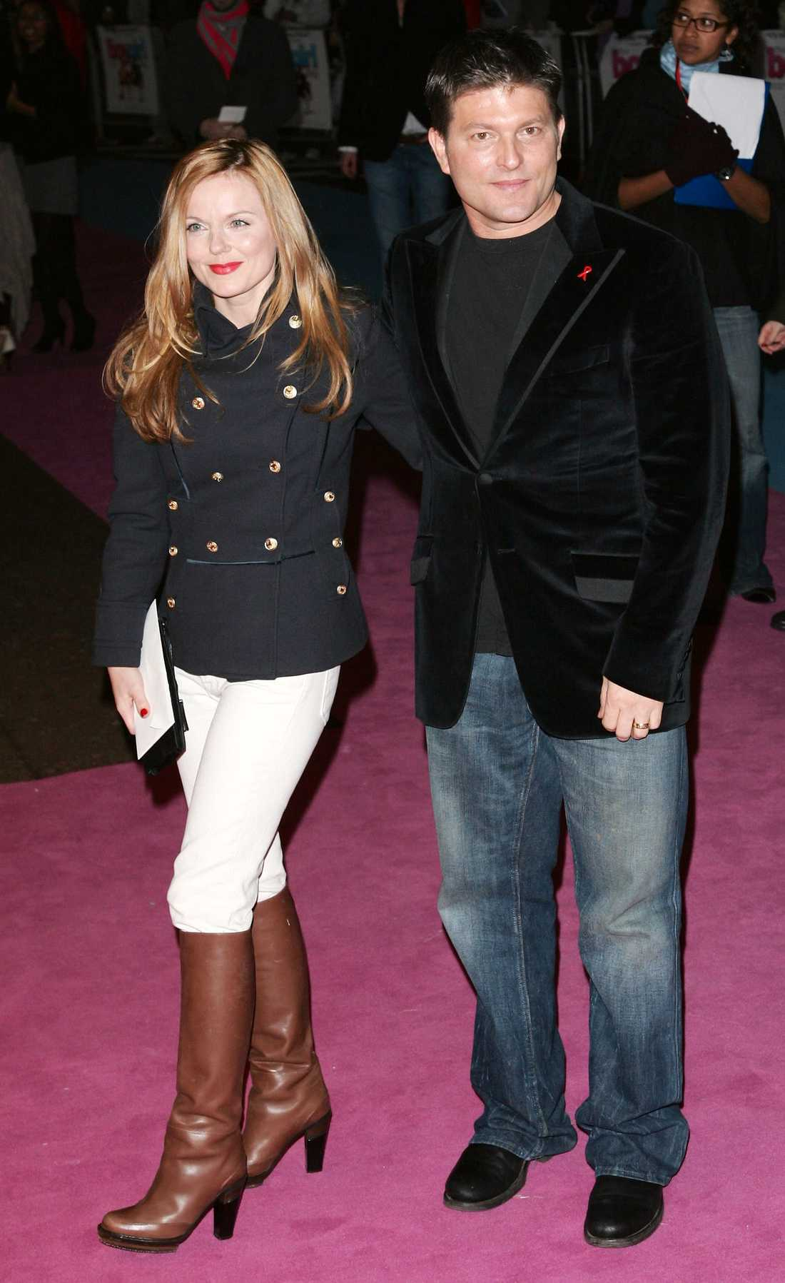 Geri Halliwell tillsammans med Kenny Goss.