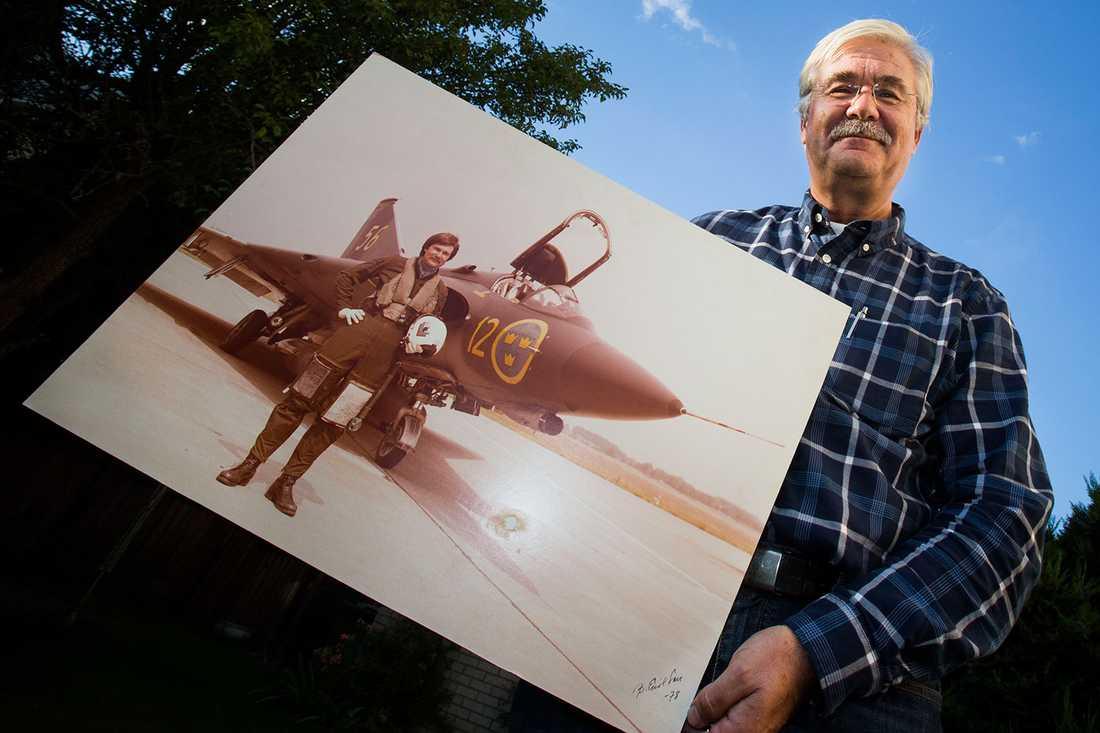AVVISADE PRESIDENTEN Pär Alnerud motade bort USA:s president från det svenska luftrummet