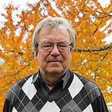 """Sven-Göran Malmgren"""", huvudredaktör för Svenska Akademiens ordlista."""