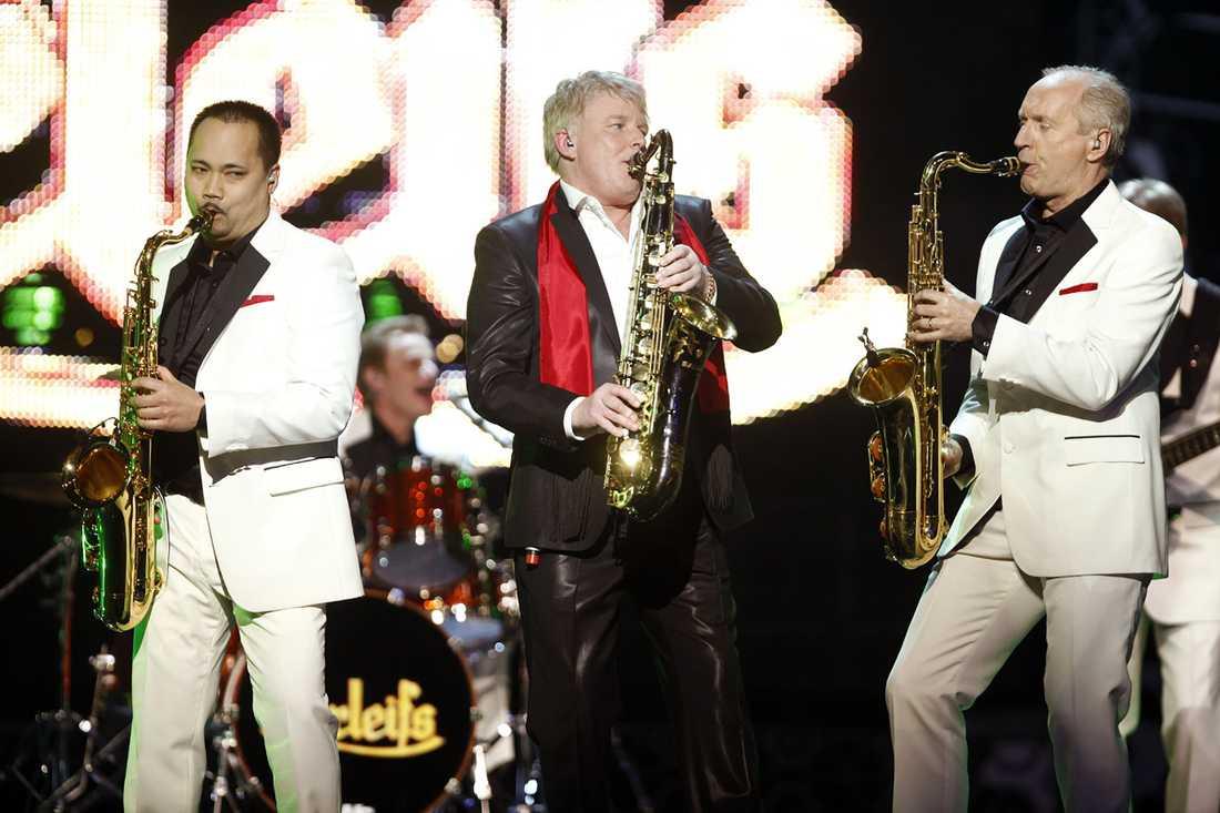 """2009 Under Melodifestivalen 2009 ställde Thorleifs upp med bidraget """"Kissin' in the moonlight"""", men slogs ut redan vid delfinalen."""