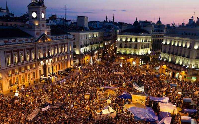 Madrid i Spanien är trea på listan över städer i Europa som är värst drabbade av ficktjuvar, här är tunnelbanan ett hett ställde för ficktjuvarna