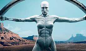 I Westworld börjar de människoliknande robotarna bli mer och mer mänskliga.