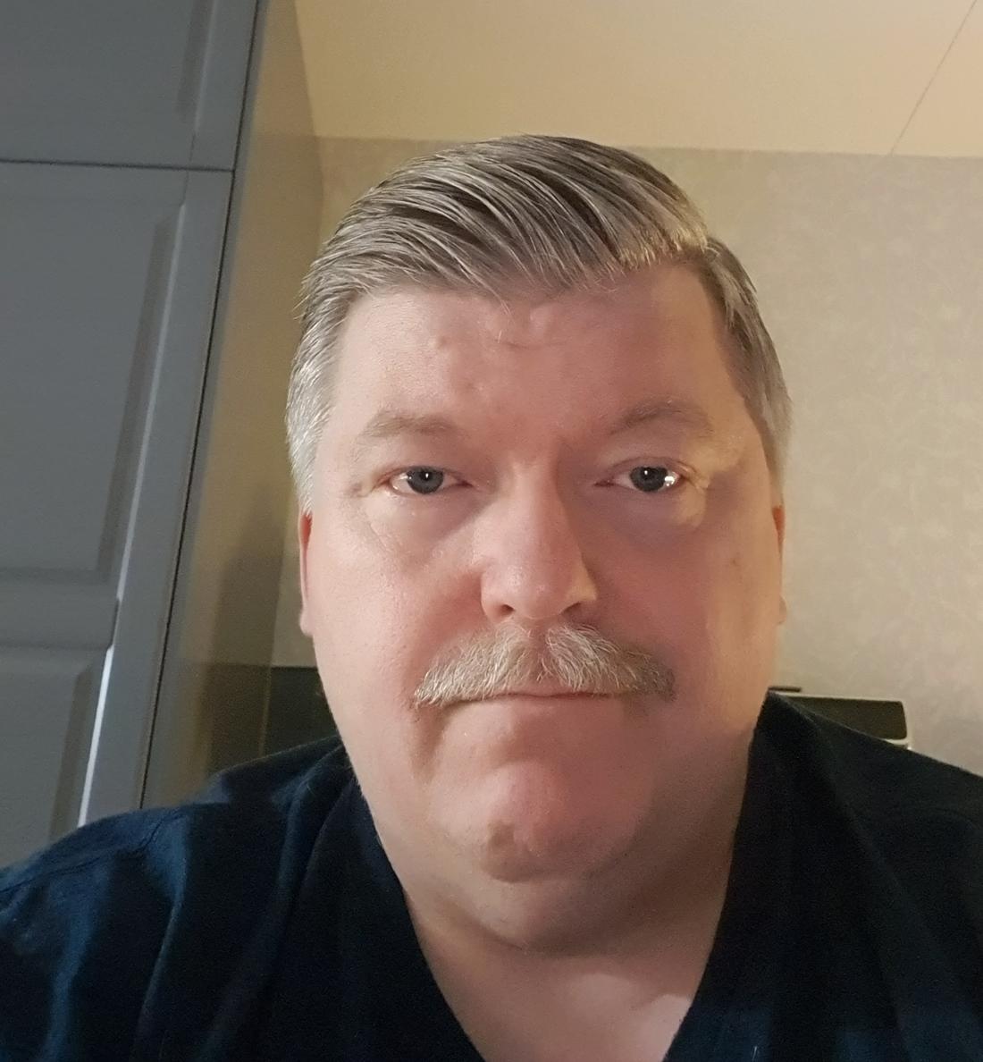 Steve Sandström, 52, en av gruppens administratörer.