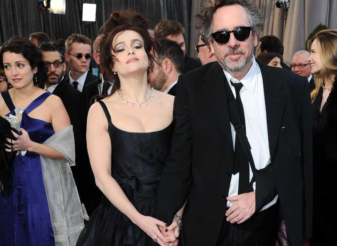 Helena Bonham Carter och Tim Burton.