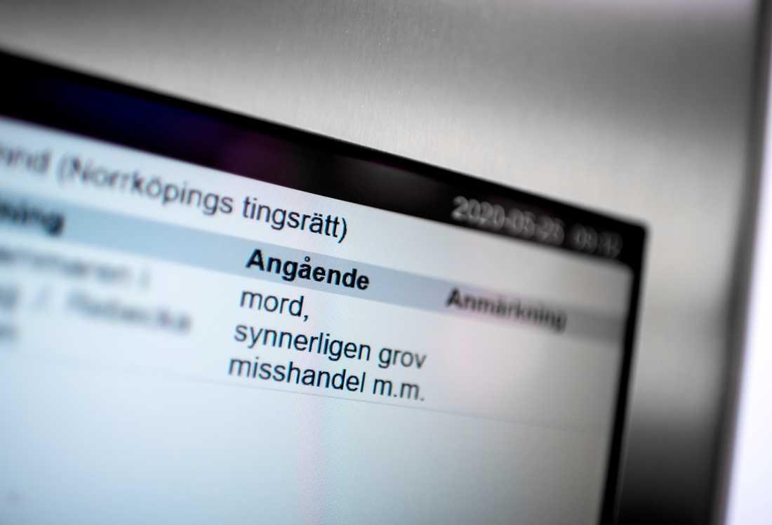 Åklagaren åtalade mamman till den treåriga flicka som hittade död i en lägenhet i Norrköping i januari för bland annat mord, synnerligen grov misshandel och brott mot griftefrid. Arkivbild.