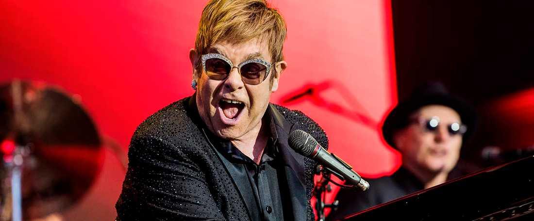 Elton John på Gröna lund 2017.
