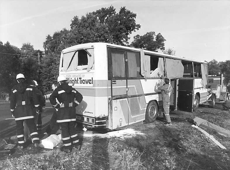 Den svåra bussolyckan utanför Ljungby den 27 september 1986 förändrade allt för Metallica.