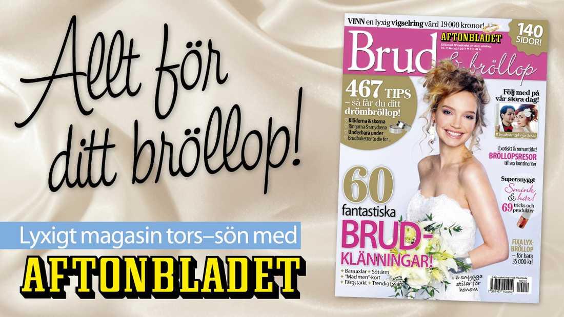 4cb01c34c3bd b>Extra bilaga:</b> Brud & Bröllop | Aftonbladet
