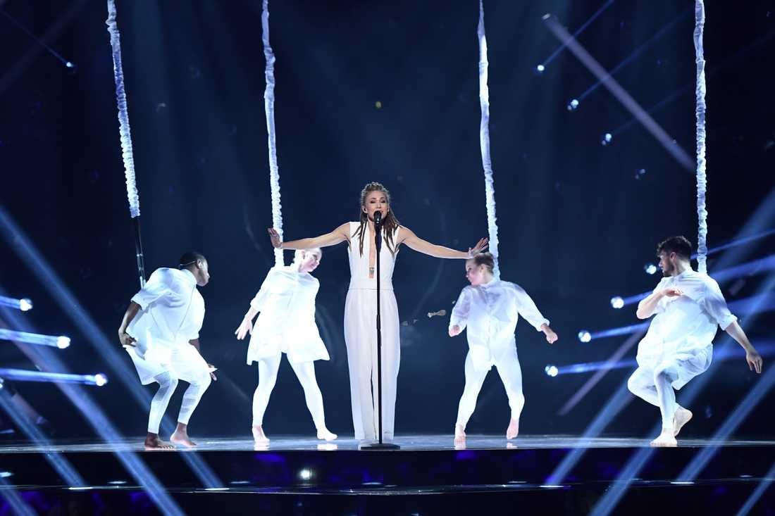 Mariette i Melodifestivalens final