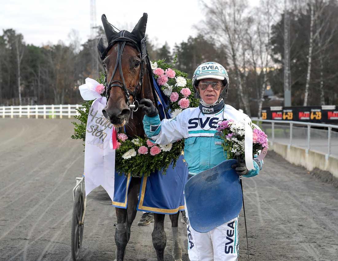 Milady Grace och Örjan Kihlström.