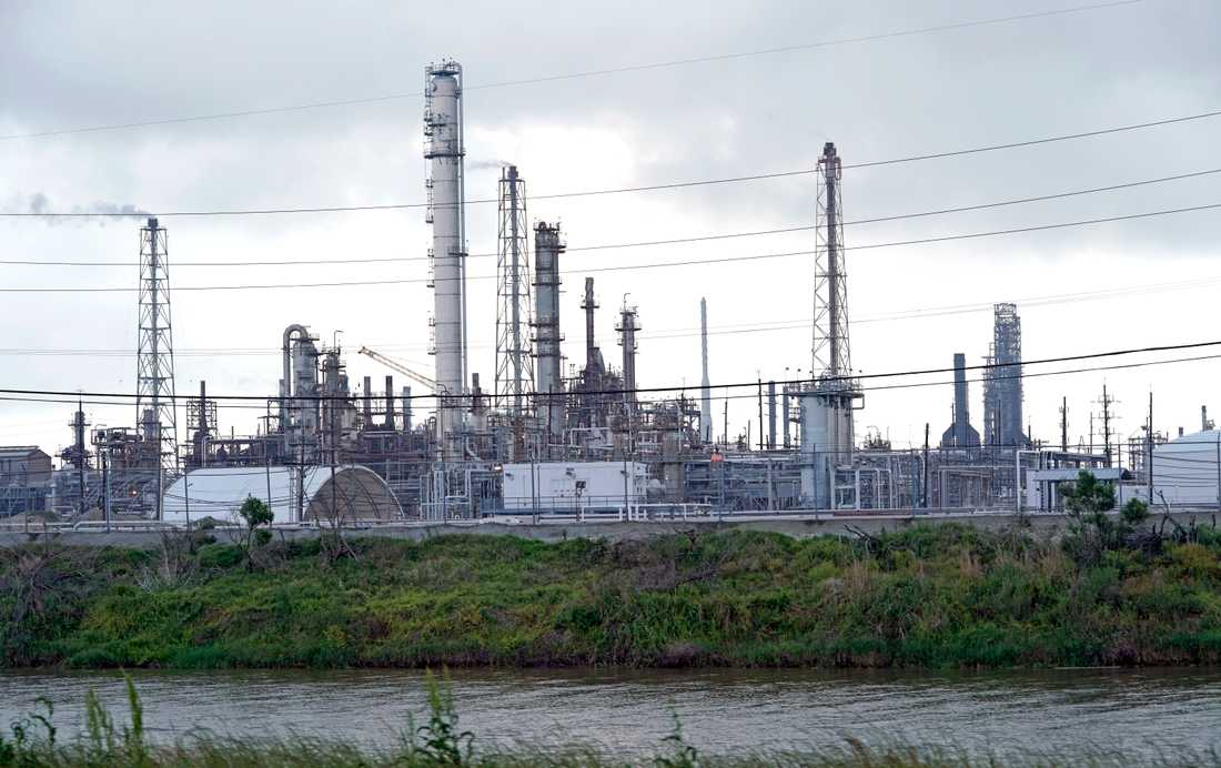 Oljeraffinaderiet Motiva i Texas är kontinentens största. Arkivbild.