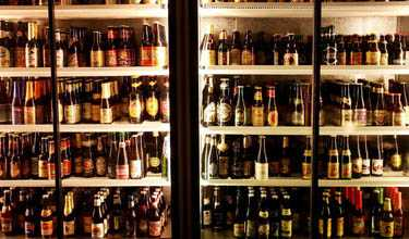 Ölkylen hos Monks Café är mer än välfylld. Nu stundar holländsk ölfestival.