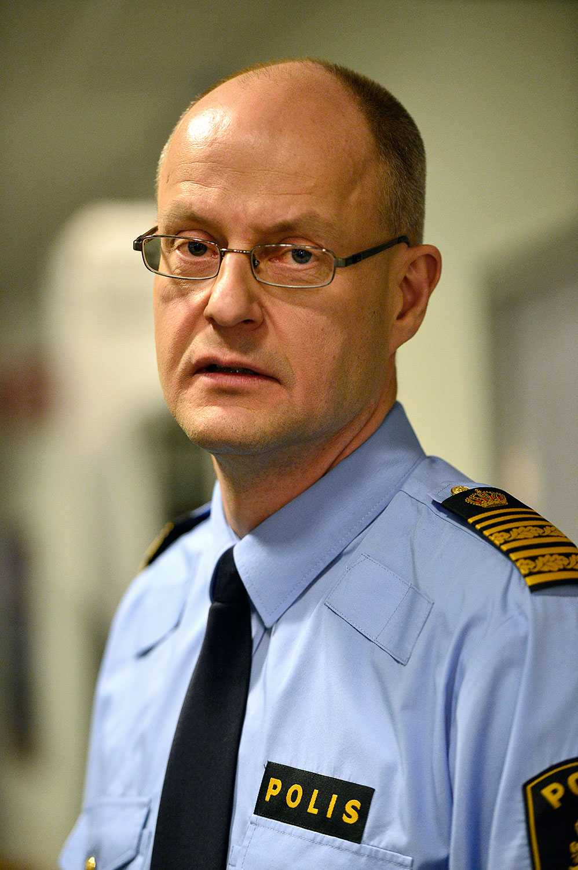 Mats Löfving, ställföreträdande rikspolischef och chef för Nationella operativa avdelningen.