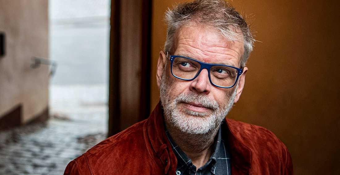 """Hans Rosenfeldt, aktuell med deckaren """"Vargasommar""""."""