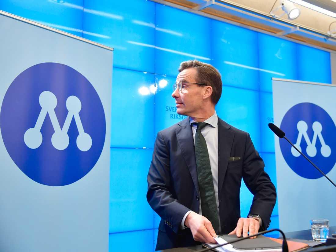 Ulf Kristersson presenterade en ny politik rörande arbetskraftsinvandringen under måndagen.