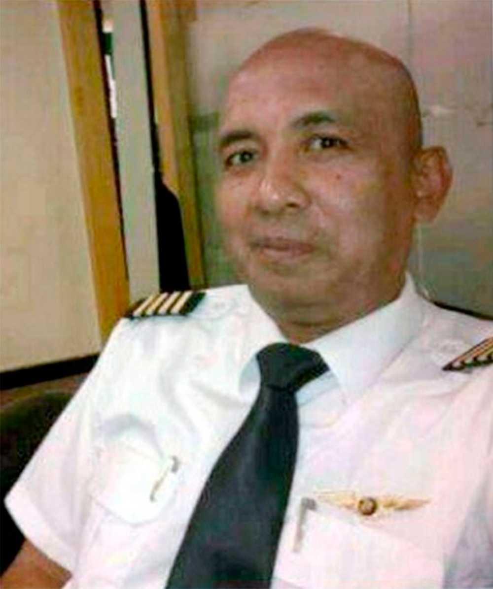 Zaharie Ahmad Shah, en av piloterna.