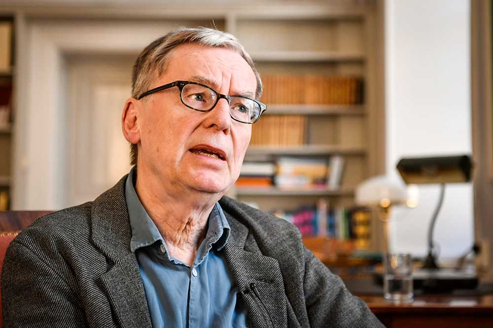 Anders Olsson, tillförordnad ständig sekreterare för Svenska Akademien.