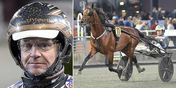 Per Lennartsson och Hazard Boko spikas på V64.