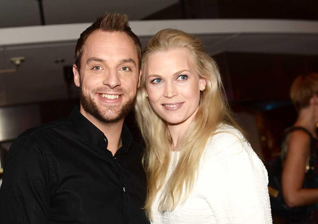 Robin Paulsson med sin maka Live Lausund.