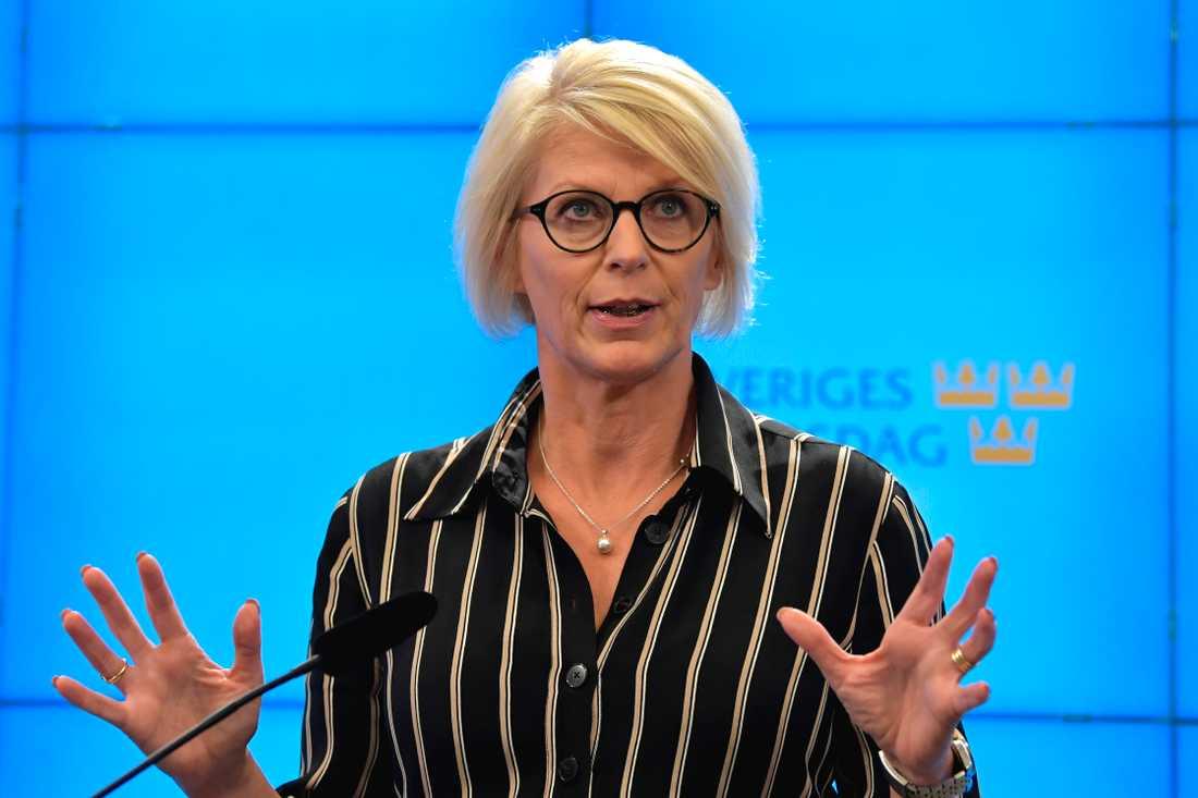 Moderaternas ekonomiskpolitiska talesperson Elisabeth Svantesson. Arkivbild.