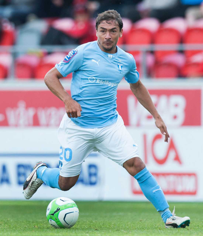 Ricardinho lämnade Malmö efter förra säsongen. Foto: Bildbyrån