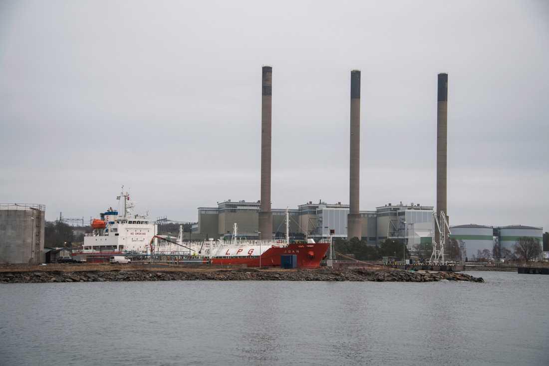 Hamnen i Karlskrona.