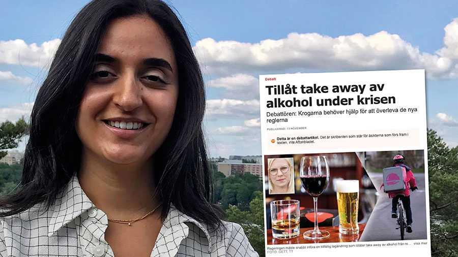"""Medan Centern vill """"take away"""" arbetsrätt och folkhälsa vill Fi i stället se mer stöd direkt till restaurangbranschen så den inte är beroende av alkoholförsäljning eller utbrända och underbetalda arbetare för att gå runt, skriver Farida al-Abani."""