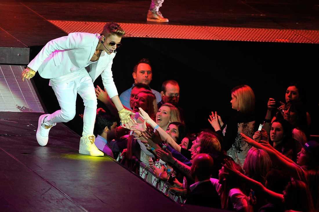 Justin Bieber i O2 Arena.