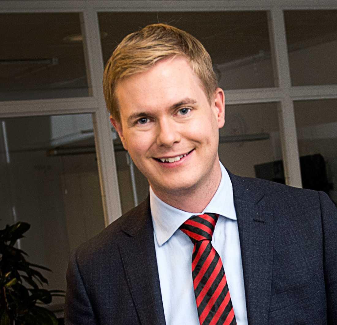 Utbildningsminister Gustav Fridolin (MP), 31