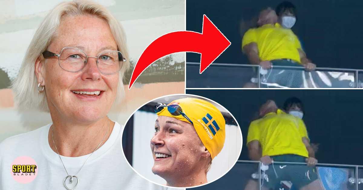 Sarah Sjöström-löftet efter tränarens luftjuckar