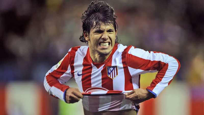 Sänkte barcelona Sergio Aguero låg med sina två mål bakom Atléticos vinst mot Barcelona i går.